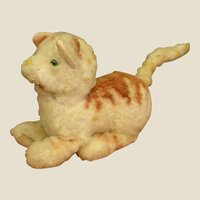 Darling 1950s Mechanical Plush Kitty Cat
