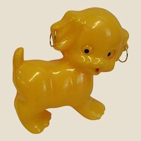 Darling Little Puppy Plastic Rattle