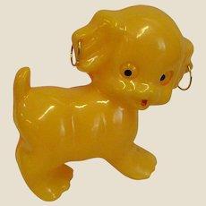 Darling Little Puppy Plastic Rattle