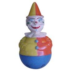 Wonderful Old Rolly Toys Clown