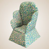 Cute Homemade Wingback Chair Pin Cushion