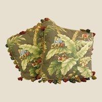 Designer Pillow with Tassel Fringe