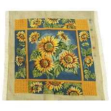 Beautiful Sunflower Needlepoint