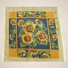 Beautiful Sunflower Needlepoint