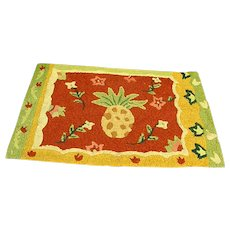 Cheery Handmade Rag Scatter Rug