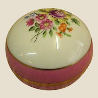Rare 100th Anniversary Herend Ring or Trinket Box dated 1939