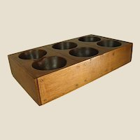 Primitive Wooden Sorting Tray or Drawer