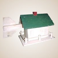 Vintage Folk Art House Weathervane