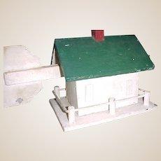 Vintage Folk Art House Weathervane