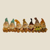 Delightful Disney Set of Seven Dwarfs