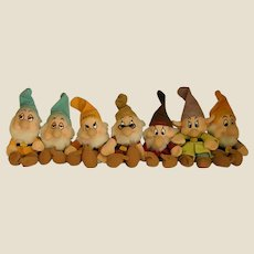 Delightful Disney Set of Seven Dwarfs