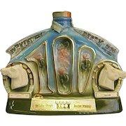 Commemorative 100th Kentucky Derby Jim Beam Decanter