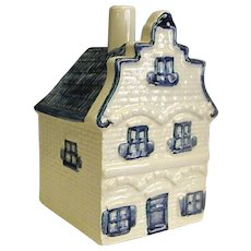Delfts Blauw House Ash Tray made for Norelco