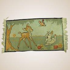 Darling Vintage Bambi Rug
