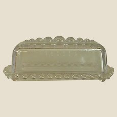 Candlewick by Imperial Glass Covered Butter Dish