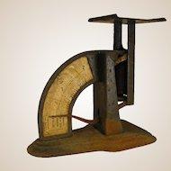 Rustic Antique Triner Liberty Model Postal Scale