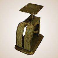 Antique Miniature Crescent Postage Scale