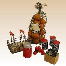 Wonderful Set of  Vintage Dollhouse Food/Groceries