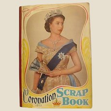 1953 Queen Elizabeth II Coronation Scrap Book
