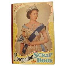 1953 Queen Elizabeth II Coronation Scrap Book