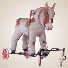 Darling Child-size Riding Steiff Horse