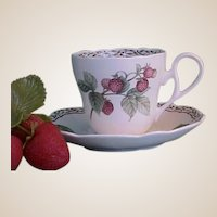 Royal Orchard by Noritake Cups and Saucers