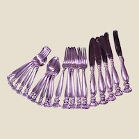 Wallace Sterling Romance of the Sea Four-Piece Place Setting
