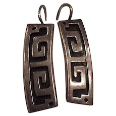 Taxco Sterling Silver EDP Mexican Earrings