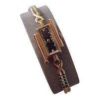 Vintage LeCoultre 14K Gold Asymmetric Ladies Wristwatch