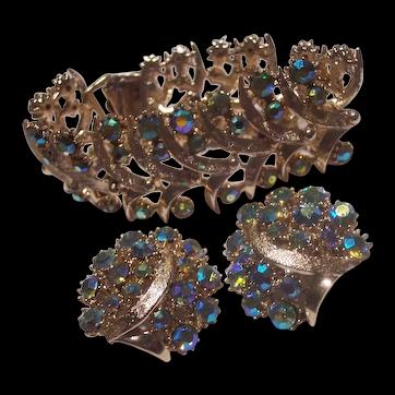 Arthur Pepper Mode Art Bracelet Earrings Set