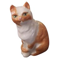 Royal Worcester Cat Figurine F.G. Doughty