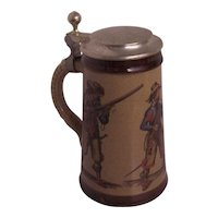 German Marzi & Remy Beer Stein with Hunters
