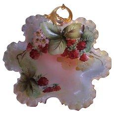 Gorgeous Rosenthal Bavaria Raspberries Candy Dish