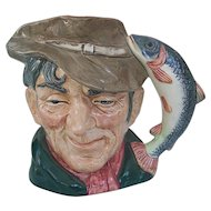 Royal Doulton Large Toby Jug The Poacher Character Mug