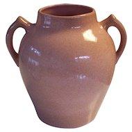 Vintage Pink Speckled Pfaltzgraff York Pottery Vase