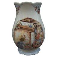 Royal Doulton Winter Brambly Hedge Vase England