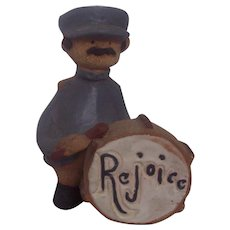 Metlox Poppytrail Poppet Grover Drummer Salvation Army Band Rejoice