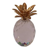 Swarovski Crystal Pineapple Figurine