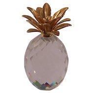 Swarovski Crystal Pineapple Figurine