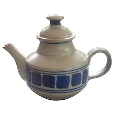 Iron Mountain Stoneware Pottery Huckleberry Teapot