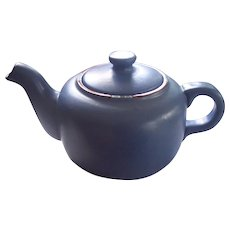 Dansk Mesa Pottery Teapot Sky Blue