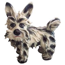 Italian Pottery Spaghetti Terrier Dog