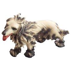 Italian Pottery Spaghetti Russian Wolfhound Dog