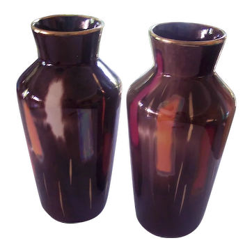 Pr Bay Keramik Pottery Vase West Germany Abstract Color Blocks