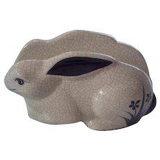 Dedham Rabbit Potting Shed Napkin Holder