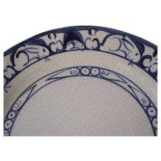"Dedham Rabbit Potting Shed Luncheon Plate 9 3/8""  #1"