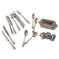 Tiny Dollhouse  Silver ware Cutlery +