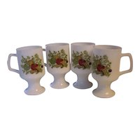4 Spice of Life Pedestal Mugs