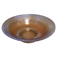 Beautifully Iridescent Large Stretch Glass Bowl