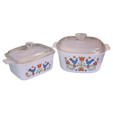Corning Country Festival 3 Q Casserole & Loaf Pan